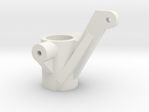 Tamiya Clodbuster Steering Arm in White Natural Versatile Plastic