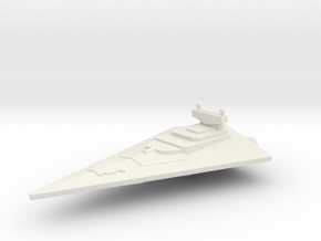 Not A Star Destroyer  in White Natural Versatile Plastic