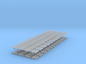1/72 or 1/48 T-80U Track Set in Smoothest Fine Detail Plastic: 1:72