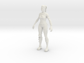 Printle V Femme 1200 - 1/24 - wob in White Natural Versatile Plastic