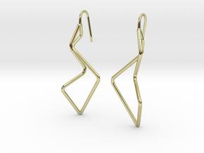 A-LINE Enmotion, Earrings in 18K Gold Plated