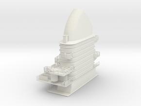 1/100 DKMGraf ZeppelinSuperstructure2 in White Natural Versatile Plastic