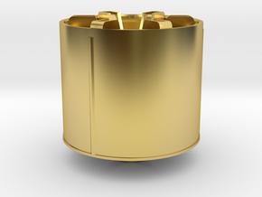 rim-monster-v22 in Polished Brass