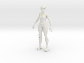 Printle V Femme 1192 - 1/24 - wob in White Natural Versatile Plastic
