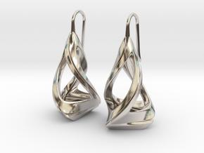 Trianon T.1, Earrings in Platinum