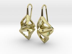 Trianon Twist, Earrings in 18K Gold Plated