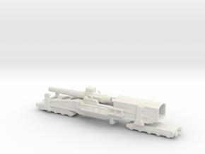 28 cm SKL / 40 (E) Railway artillery Bruno 1/200  in White Natural Versatile Plastic