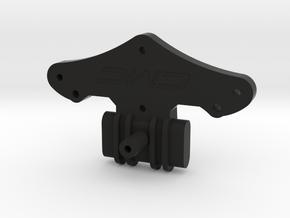 ORV Bulkhead for JG Shock Tower Mount in Black Natural Versatile Plastic