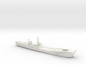 1/350 Scale IJN No 101 Landing Ship Tank in White Natural Versatile Plastic