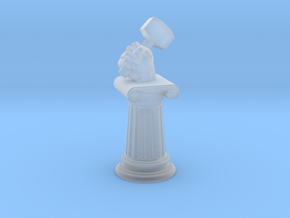 Objective - Masonic Column in Smooth Fine Detail Plastic
