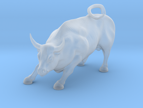 O Scale Bull in Smooth Fine Detail Plastic