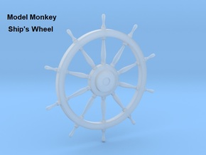 1/36 Ships Wheel in Smoothest Fine Detail Plastic