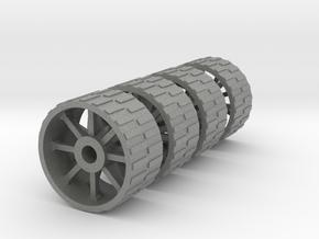 18mm diameter artillery wheels in Gray PA12