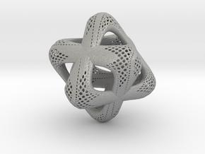 Sacred Merkaba Perforated in Aluminum