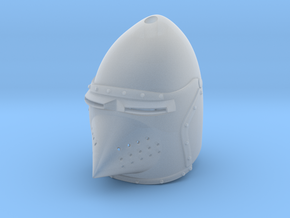 Hounskull Bascinet (For Crest) in Smooth Fine Detail Plastic: Small