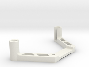 DJI OcuSync Cylindrical with wires x2 mount  in White Natural Versatile Plastic