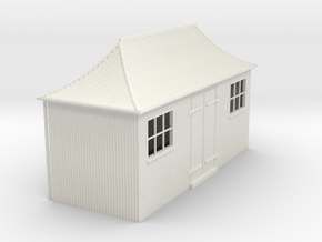 z-43-gwr-pagoda-shed-1 in White Natural Versatile Plastic