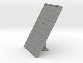 HO Scale Solar Panel w_support in Gray PA12