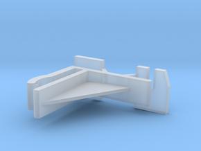 Verticals Valance Clips 008 in Smooth Fine Detail Plastic