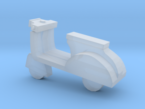 Miniature Scooter in Smooth Fine Detail Plastic