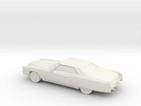 1772 1971 Cadillac Eldorado Coupe in White Natural Versatile Plastic