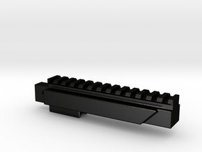 LCT SR-3M Bottom Rail in Matte Black Steel