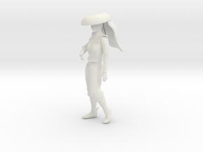Printle V Femme 1110 - 1/24 - wob in White Natural Versatile Plastic