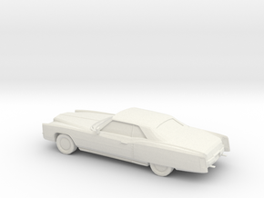 1/76 1971 Cadillac Eldorado Convertible in White Natural Versatile Plastic