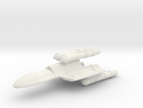 3125 Scale Romulan FastHawk-K Fast Heavy Cruiser in White Natural Versatile Plastic