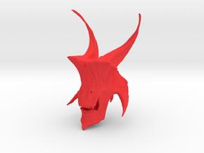 Monster in Red Processed Versatile Plastic