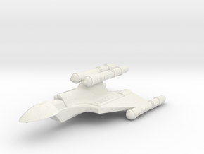 3125 Scale Romulan FastHawk-K+ Fast Heavy Cruiser in White Natural Versatile Plastic