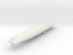 "Zeppelin LZ114 ""Dixmude"" 1/1250 scale (SLS) in White Natural Versatile Plastic: 1:1250"
