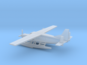 1/400 Scale Cessna 208 Float Plane in Smooth Fine Detail Plastic
