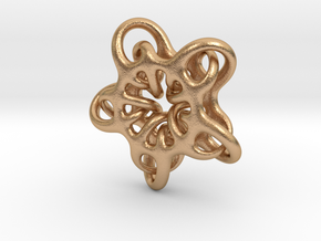 Star Abstract in Natural Bronze: Small