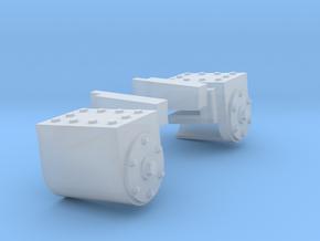 RAR cylinders Charlton in Smooth Fine Detail Plastic: 1:43.5