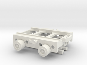 1/144 Culemeyer 2 axis version in White Natural Versatile Plastic