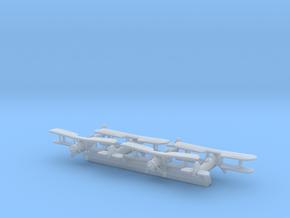 Fairey Swordfish x12 (WW2) in Smooth Fine Detail Plastic: 1:700