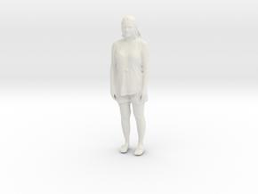 Printle C Femme 658 - 1/32 - wob in White Natural Versatile Plastic