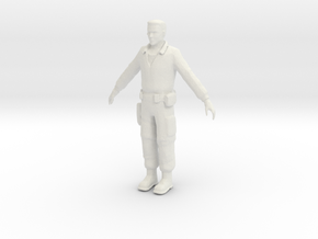 Printle V Homme 1691 - 1/24 - wob in White Natural Versatile Plastic