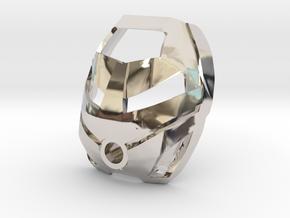 Noble Kanohi Ruru in Platinum