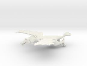 Omni Scale Space Dragon Adult Female MGL in White Natural Versatile Plastic