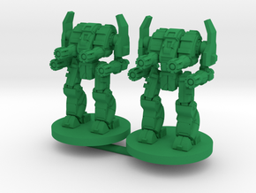 Mattock D Combat Walker - 3mm in Green Processed Versatile Plastic