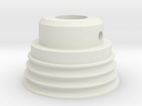 Elna Friction Drive Roller in White Natural Versatile Plastic