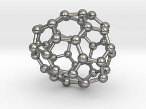 0693 Fullerene c44-65 c1 in Natural Silver