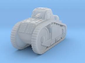 Peugeot tank 1917  1:144 in Smooth Fine Detail Plastic