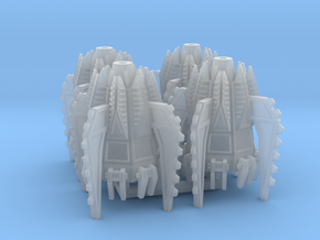 6mm Fellclaw Assault Pods (x4) in Smooth Fine Detail Plastic