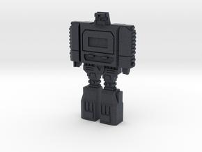 Retro Time Robot in Black PA12