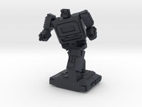 Retro Time Robot Pose #2 in Black PA12