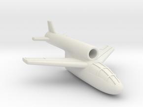 (1:144) Messerschmitt Me P.1079/7 in White Natural Versatile Plastic