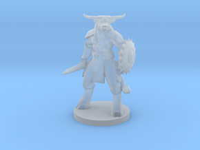 Minotaur Gladiator in Smooth Fine Detail Plastic